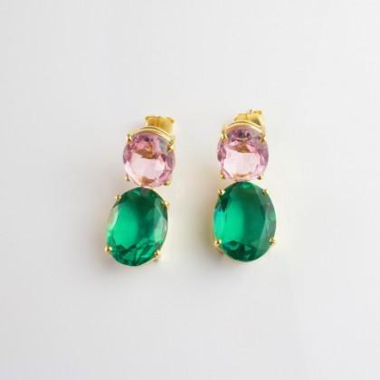 Pendientes Lush Emerald